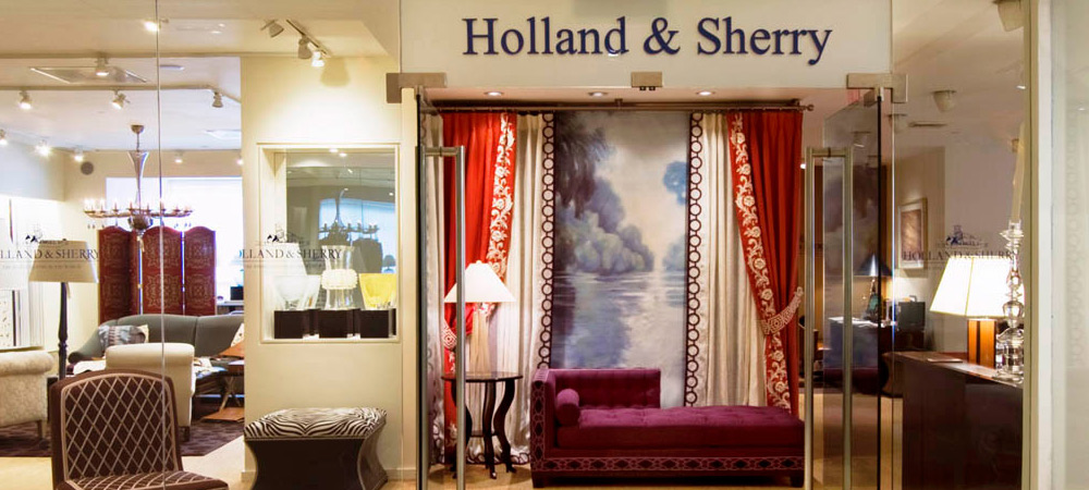 Found in the world's most magnificent residences, Holland and Sherry Interiors stands for the ultimate statement of style and sophistication in luxury home furnishings and interiors.
